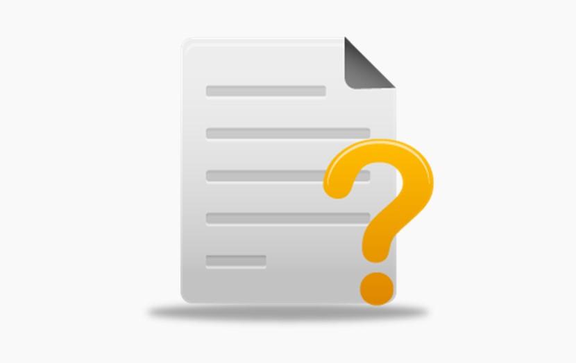 问号 文档和问号图标