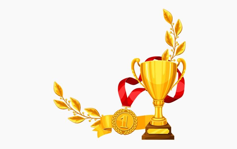 金色奖杯 奖牌荣誉