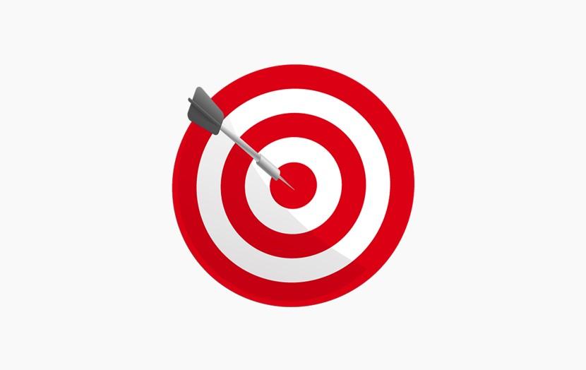 红色目标 飞镖 靶子 png免扣图片