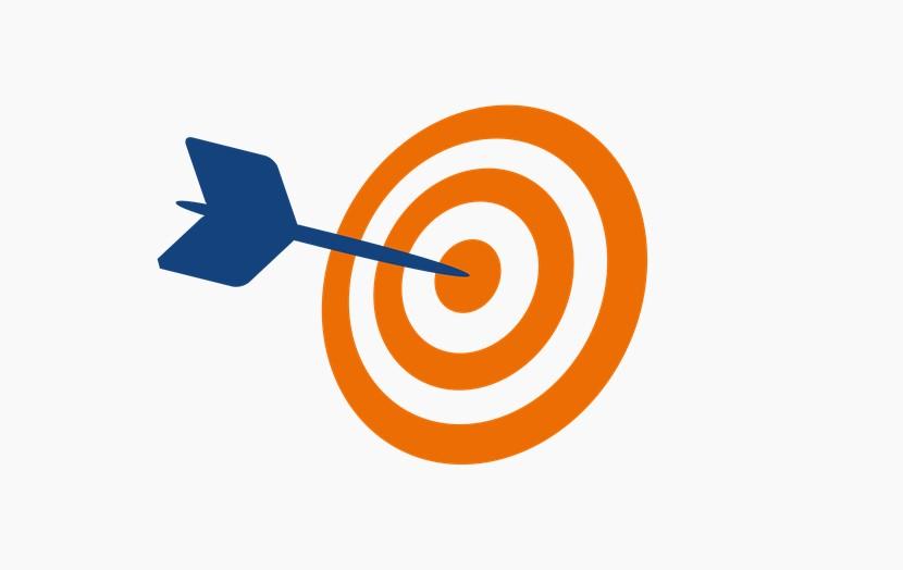 橙色目标 飞镖 靶子 png免扣图片