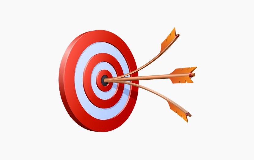 三只飞镖 箭靶子 目标png免扣图片