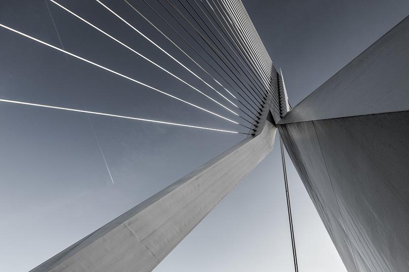 斜拉桥钢索桥大桥桥塔