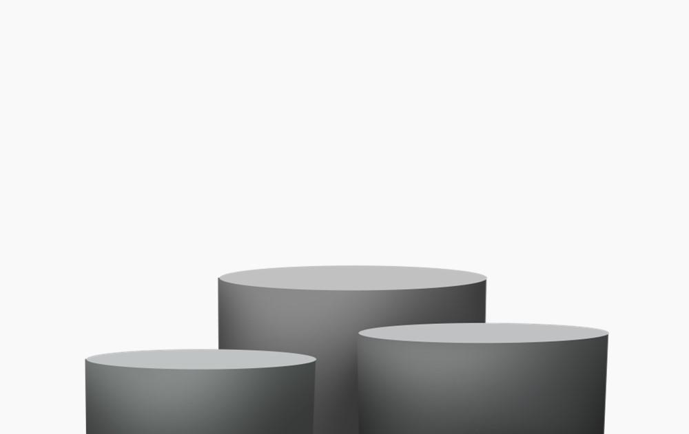 质感空间圆柱体展台